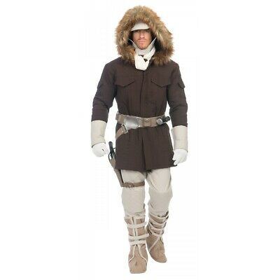 Han Solo Costume Adult Hoth Star Wars Halloween Fancy Dress