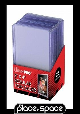 "200 x ULTRA PRO REGULAR CARD TOPLOADERS 3"" x 4"" CLEAR RIGID DISPLAY HOLDER"
