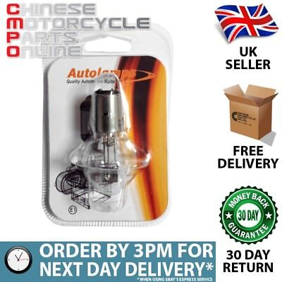 Autolamps Headlight Bulb BA20D 35w (BULB008A)