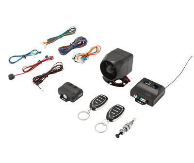 CRIME GUARD Keyless Entry/Vehicle Security System w/ 4 Button Remote | SP-102