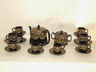Service A The Terre Cuite England Emaillee Trent C&w Theiere Sucrier 10 Tasses
