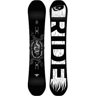 Ride Machete Men's Snowboard all Mountain Freestyle Freeride 2018-2019 New