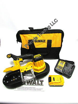 DeWALT 20V 20 Volt Cordless Handheld Band Saw DCS371P1 Inc 5.0Ah Battery & Blade