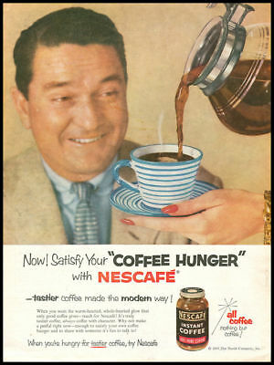 1955 vintage ad for Nescafe Instant Coffee