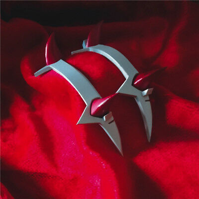 DARLING In The FRANXX Zero Two 02 Headband Devil Horn Hairband Cosplay Prop
