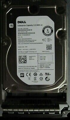 Dell 6Tb 3.5 6Gb SAS HDD to suit  R720 R520R730 R530 MD1400 MD3400 etc