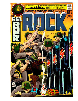 OUR ARMY AT WAR #225 in NM- grade 1970 DC WAR comic with  SGT ROCK nazi cover