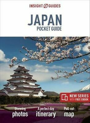 NEW Japan By Insight Pocket Travel Guide Paperback Free Shipping