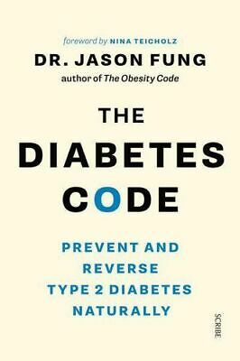 NEW The Diabetes Code By Jason Fung Paperback Free Shipping