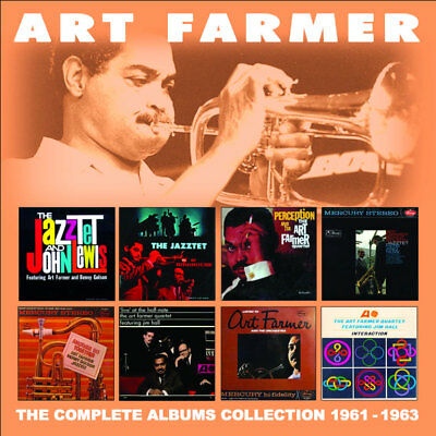Farmer, Art - The Complete Albums Collection: 1961-1963 CD (4) Enlightenm NEW