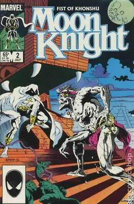 Moon Knight (2nd Series) Fist of Khonshu #2 1985 FN Stock Image