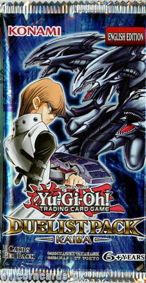 YuGiOh! Duelist Pack Kaiba UNL Edition New And Sealed Booster Pack x1