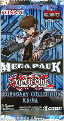 YuGiOh! Legendary Colection Kaiba 1st Edition New And Sealed Booster Pack x1