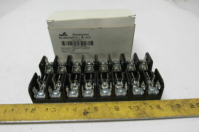 Cooper BCA6032PQ Buss 2 Pole Fuse Block 30A 600V Class CC Lot OF 4