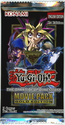 YuGiOh! The Dark Side of Dimensions Movie Pack Gold Edition New And Sealed Boost