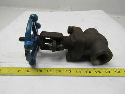 "Smith Forged Steel Fig 888 1"" NPT Gate Valve 2000 WOG"