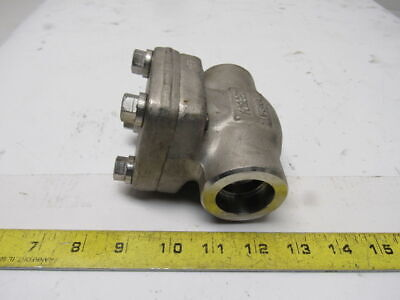 "CF Fluid Controls CK80WD1CF 1"" Stainless Steel Check Valve WOG 800#"