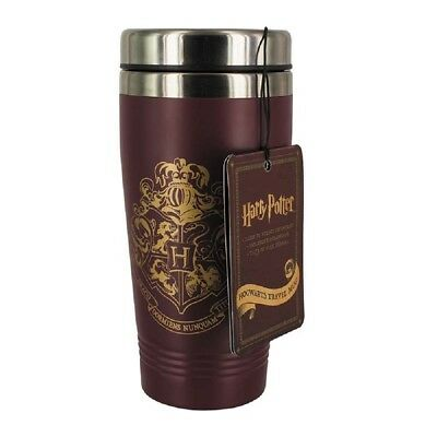 Harry Potter  Official Hogwarts Stainless Steel Double Walled Travel Mug Bnwt