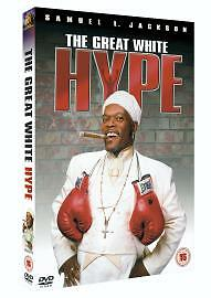 The Great White Hype [DVD], in Good Condition, Samuel L. Jackson, Jeff Goldblum,