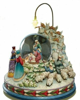 Jim Shore Large Nativity Behold The Blessed Birth' Light+Musical Waterb, 4012658