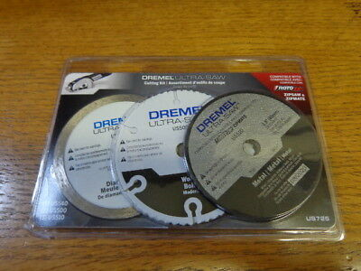 *DREMEL ultra-saw 3.5 cut-off wheel 6 pack US725  BRAND NEW WITH FREE SHIPPING*