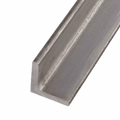 """304 Stainless Steel Angle 1-1/2"""" x 1-1/2"""" x 12"""" (1/4"""" Thickness)"""