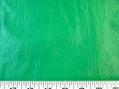 Discount Fabric Faux Leather Upholstery Pleather Vinyl Grass Green PL16