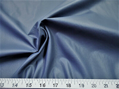 Discount Fabric Faux Leather Upholstery Pleather Vinyl Slate Blue PL20