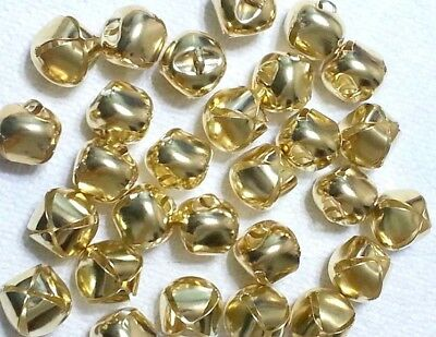 Jingle Bells Gold 1 inch 28 Pieces Craft Bells Wreaths Jewelry Bows Cat Toy BQ