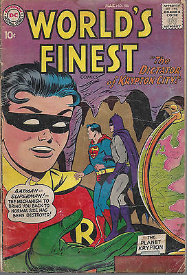 Worlds Finest  #100  GD/GD+  Silver Age   March 1959