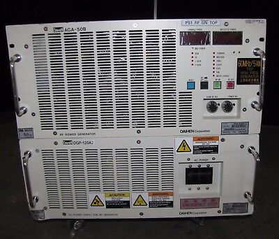 @@daihen Corporation Agh-50B2-V Rf Power Generator W/ Dpg-120A2 Dc Power (#1730)