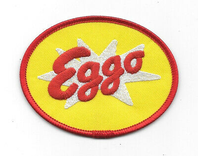 Stranger Things TV Series Eggo Waffles Logo Embroidered Patch NEW UNUSED