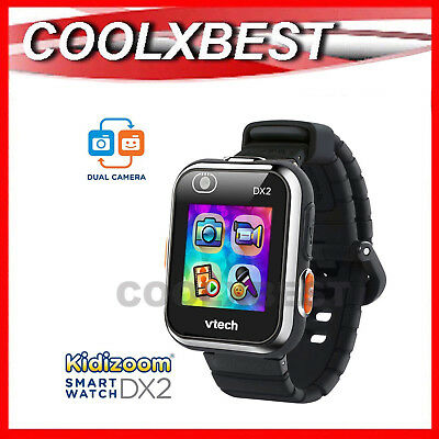 NEW VTECH KiDiZOOM DX2 KID's SMART WATCH / CAMERA TOUCH SCREEN BLACK