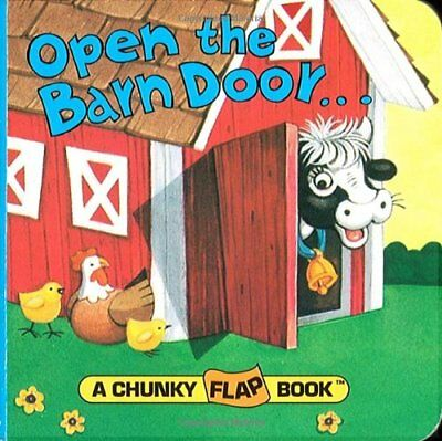 Open the Barn Door Chunky Flap Bk (Chunky Flap Book),BB,Christopher Santoro, Ch
