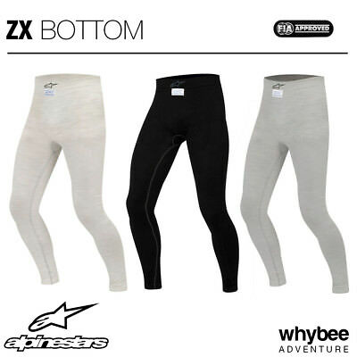 Sale! 4754112 Alpinestars ZX PANTS Ultra Lightweight Long Johns MOTORSPORT RACE
