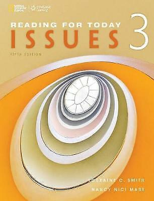 Reading for Today 3: Issues (Reading for Today, New Editions),PB,Lorraine C Smi