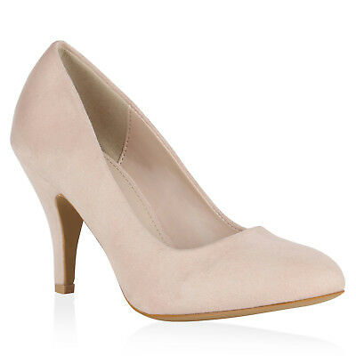 MUST-HAVE DAMEN SCHUHE 153457 PUMPS ROSA 40 STYLISCH