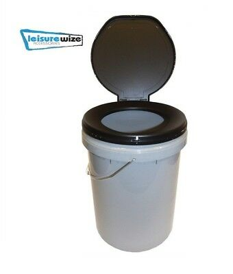 Leisurewize Need A Loo Camping Fishing Festival Etc Portable Toilet Bucket