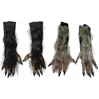 X-Long Werewolf Gloves Costume Accessory Adult Halloween