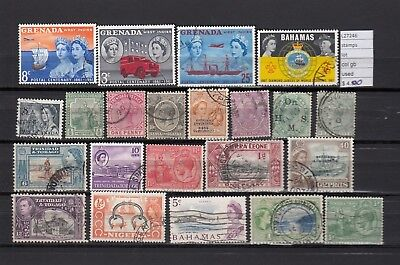 Lot Stamps British Colonies Used  (L27246)