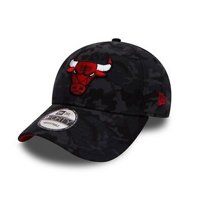 New Era 9Forty NBA Chicago Bulls Camouflage Réglable Visière courbe ruban 6c72497177e3