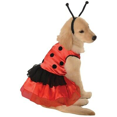 Ladybug Dress Pet Pet Costume Pet Halloween Fancy Dress