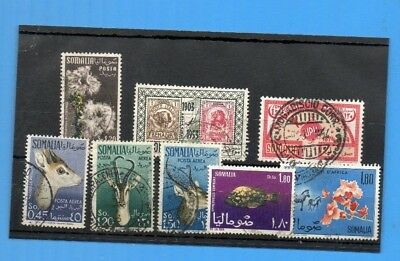 Somalia Used Selection Of 8 Well Catalogued   Pictorials.