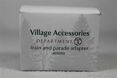 Dept 56 Village Accessory 'Train & Parade Adapter' #4030961 New In Box