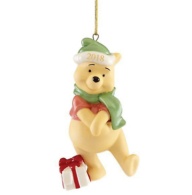 Lenox Disney 2018 Present from Pooh Ornament