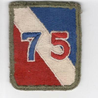 WW 2 US Army 75th Infantry Division Short Patch Inv# C438