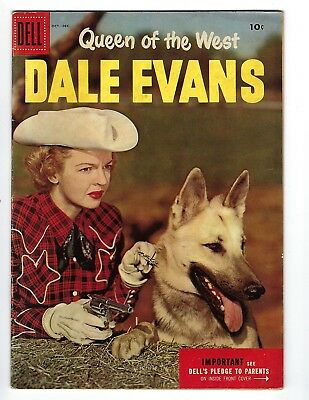 Queen Of The West Dale Evans Comic Book #9 Oct-Dec 1955 Dell Publication 10 Cent