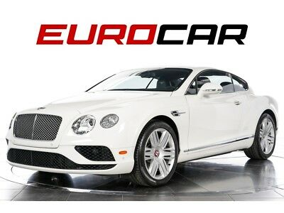 Continental GT V8 2016 Bentley Continental GT V8 - ONE OWNER, LOW MILES, INTERIOR STYLE SPEC.