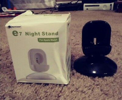 e7 Night Stand 360-degree Rotary Charging Stand for Apple Watch