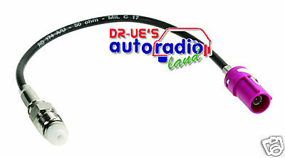 BMW GSM Antennenadapter FAKRA GSM - FME Buchse